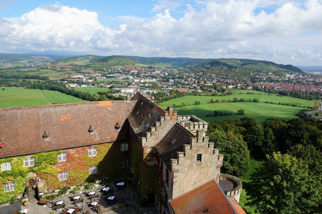castle saaleck near hammelburg in germany