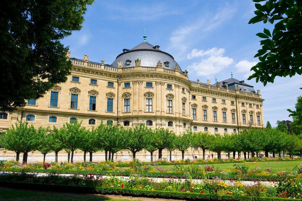 baroque palace residenz würzburg germany