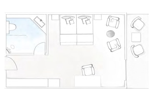 double room classic sketch new